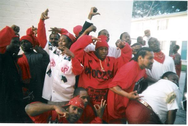 9 deuce bishop blood gang members dancing