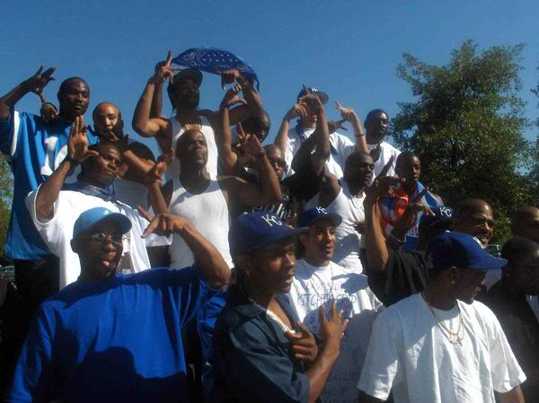 Crip Gangs in Florence Unincorporated Los Angeles County